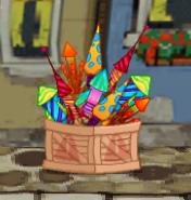fireworks in dizzywood