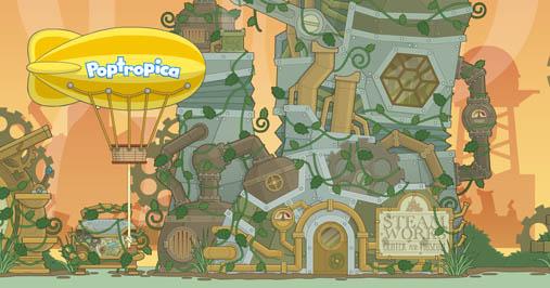 Poptropica Steamworks IslandWalkthrough