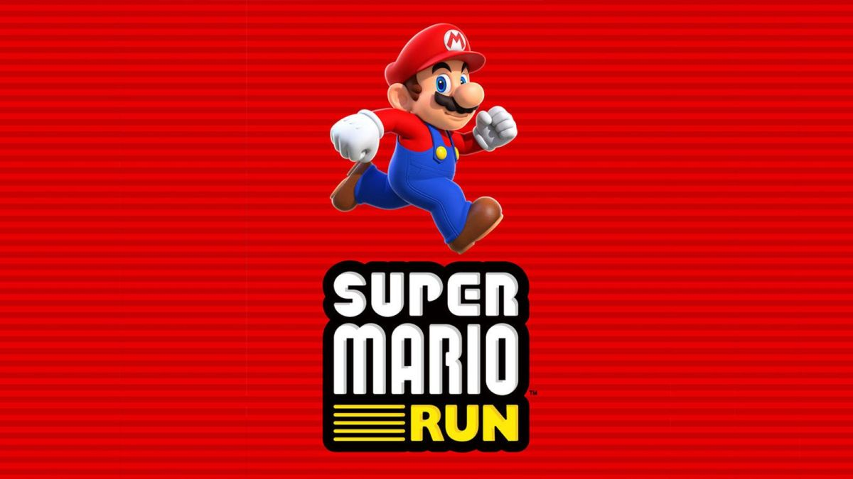 I'm Playing Super Mario Run